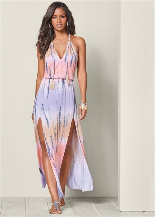 Платье Tie Dye - фото 4474