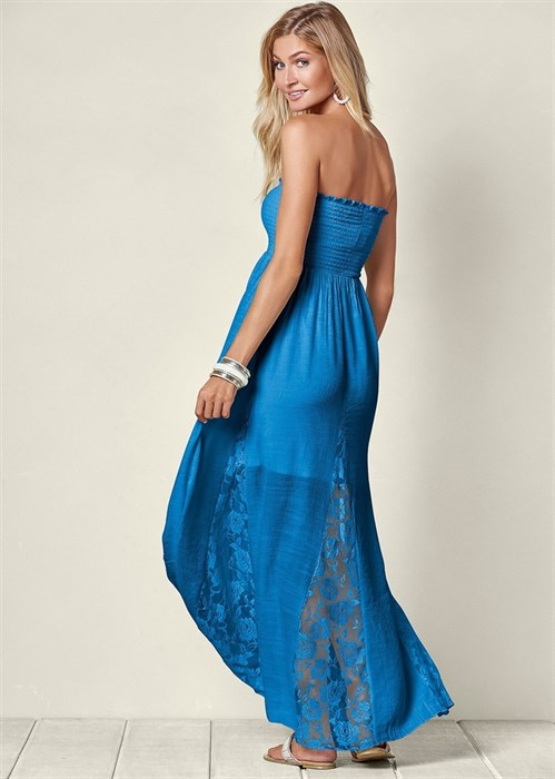 Платье Lace Detailed - фото 4480