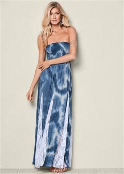 Платье Lace Detailed - фото 4477