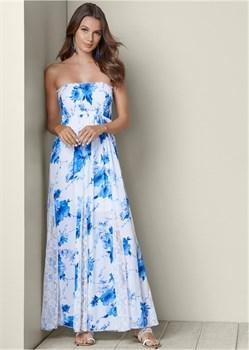 Платье Lace Detailed - фото 4478