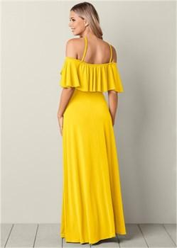 Платье Cold Shoulder - фото 4489