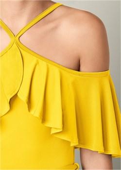 Платье Cold Shoulder - фото 4490