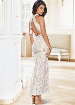 Платье Laced Maxi - фото 4494