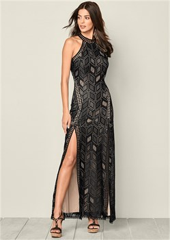 Платье Laced Maxi - фото 4495