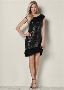 Платье Bodycon Sequin