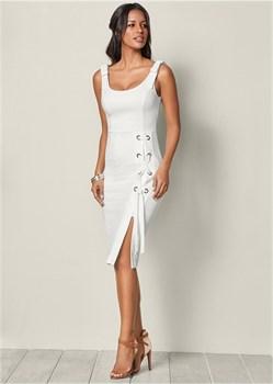 Платье Lace Up Detail - фото 4510