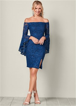 Платье Sleeve Detail