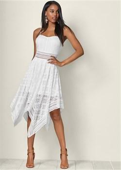 Платье Lace Handkerchief