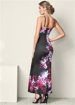 Платье Floral Print Long - фото 4552