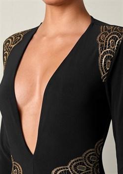 Платье Plunging V-Neck Long - фото 4565