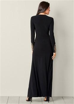 Платье Plunging V-Neck Long - фото 4566